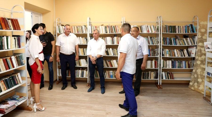 Рабочий визит Владимира Константинова