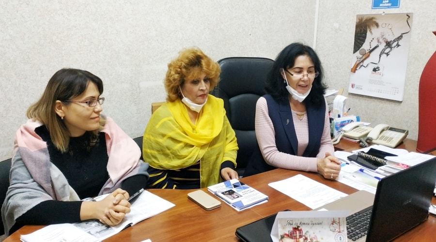 Cпециалисты библиотеки приняли участие в заседании конференции